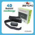 Bluetooth 4.0 Heart Rate Sensor for Fitness with App and Adjustable Chest Belt in House-Service Detector Tester