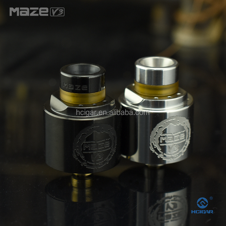 New Invention 2017 mini vape mods 510 drip tip resin HCigar atomizer maze v3 rda