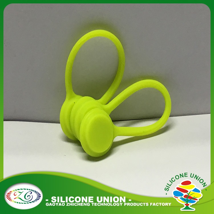 Christmas gift silicone fashion cable winder/cable tidy/earphone cord holder