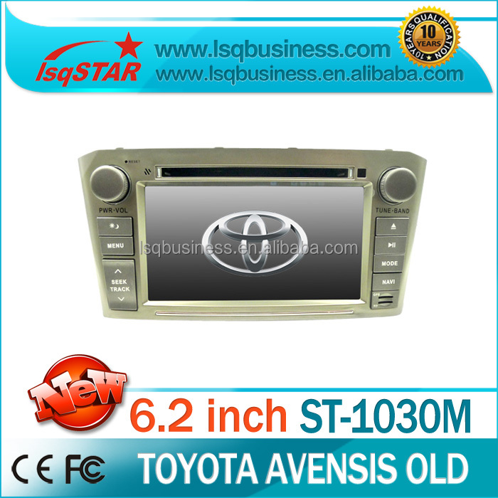 LSQ Star double din car dvd gps for toyota avensis before 2008 car dvd player toyota avensis car dvd /monitor