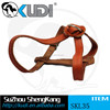 High quality pet leather harness