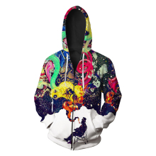 Wholesale Men's 100% Polyester Custom Your Own <strong>Design</strong> 3D Printed Sublimation Hoodie