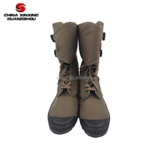 Military canvas boots army green canvas shoes