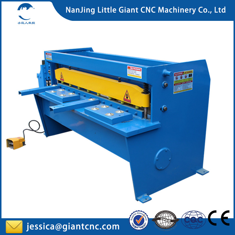 Low price Q11 Series electrical metal steel iron plate shearing machine made in China