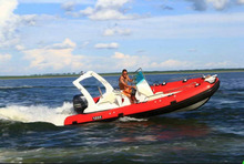 5.8m RIB boat with CE certification