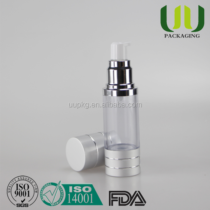 UU Packaging high quality 30ml airless pump bottle in stock