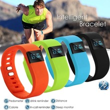 TW64 Smart Bracelet Sport Watch Step Calorie Counter Tracker Pedometer