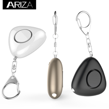 Ariza 120db Portable Personal security Alarm Personal Alarm keychain Anti -Rape Anti-Attack Security alarm