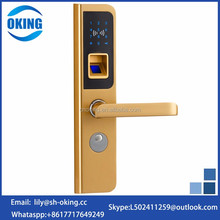 Hot selling M 1 card fingerprint door lock without handle