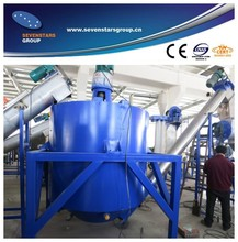 Zhangjiagang pet bottle flakes recycling machine with 8 years experience