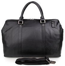 7322A Team Travel Bag Cowhide Leather Bicycle Fancy Travel Duffel Bag