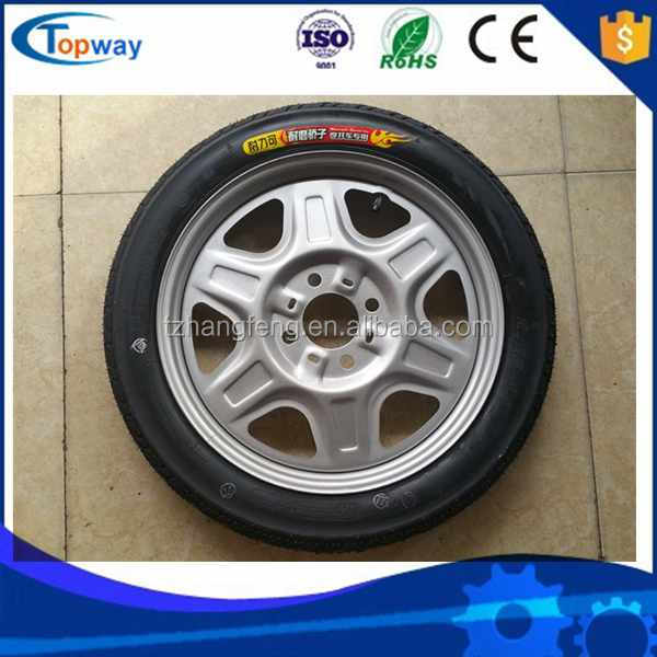 rim and tire and front brake tricyle parts made by china factory manfacture