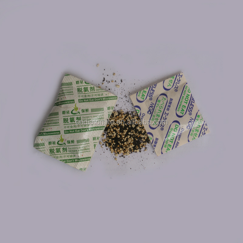 diatomite used in deoxidizing agent granules size 0.25-0.8mm for oxygen absorber