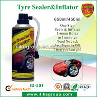 Easy use Tire Repair emergency tire sealaer and inflator