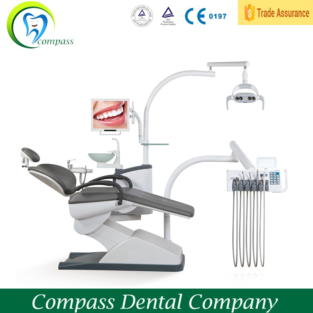 CS-N4 Comfortable compensation design dental unit chair for dentist clinic or hospital