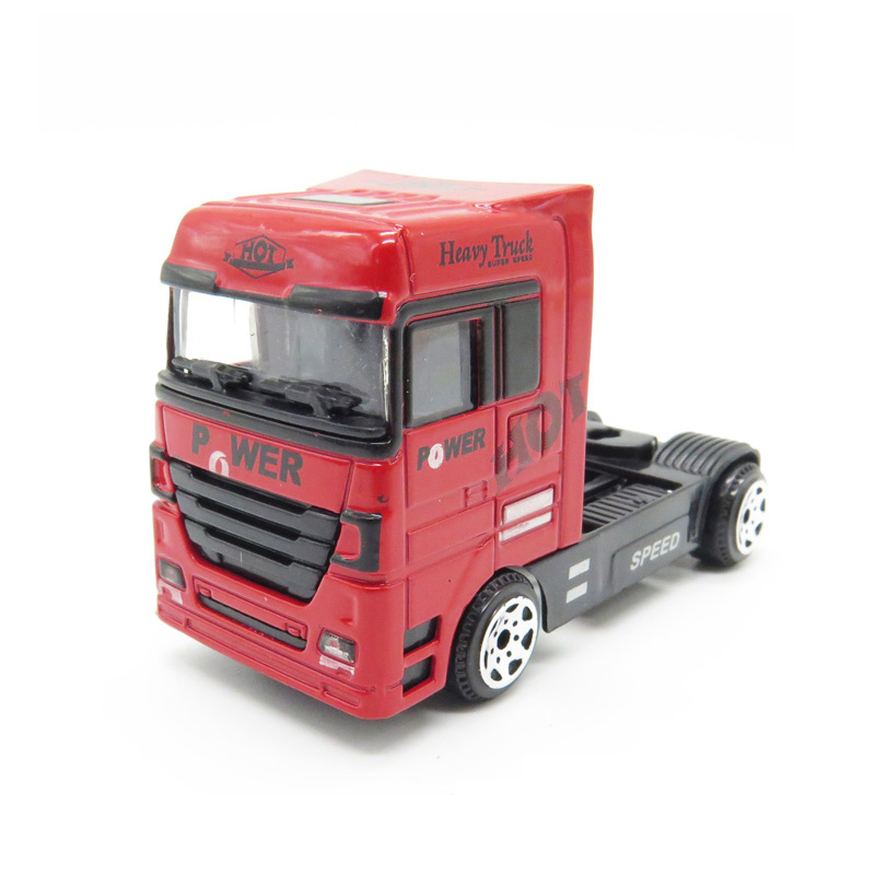 Customized 1/87 scale die cast metal mini truck model toy promotional gifts