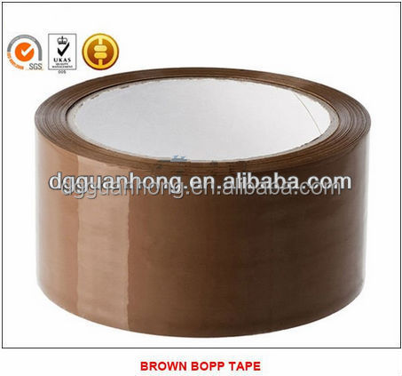 Hot sale guan hong clear or transparent bopp tape for packing