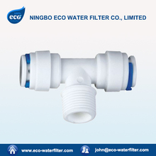 Tee Joint Plastic POM Push Fit Pipe Fitting