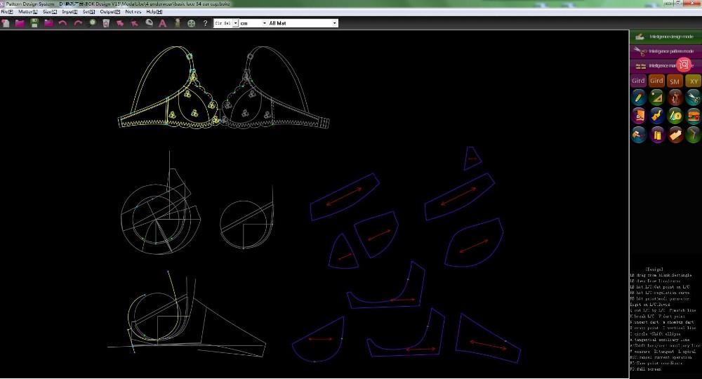 High Quality Garment Cad Software 3d Textile Design Fabric
