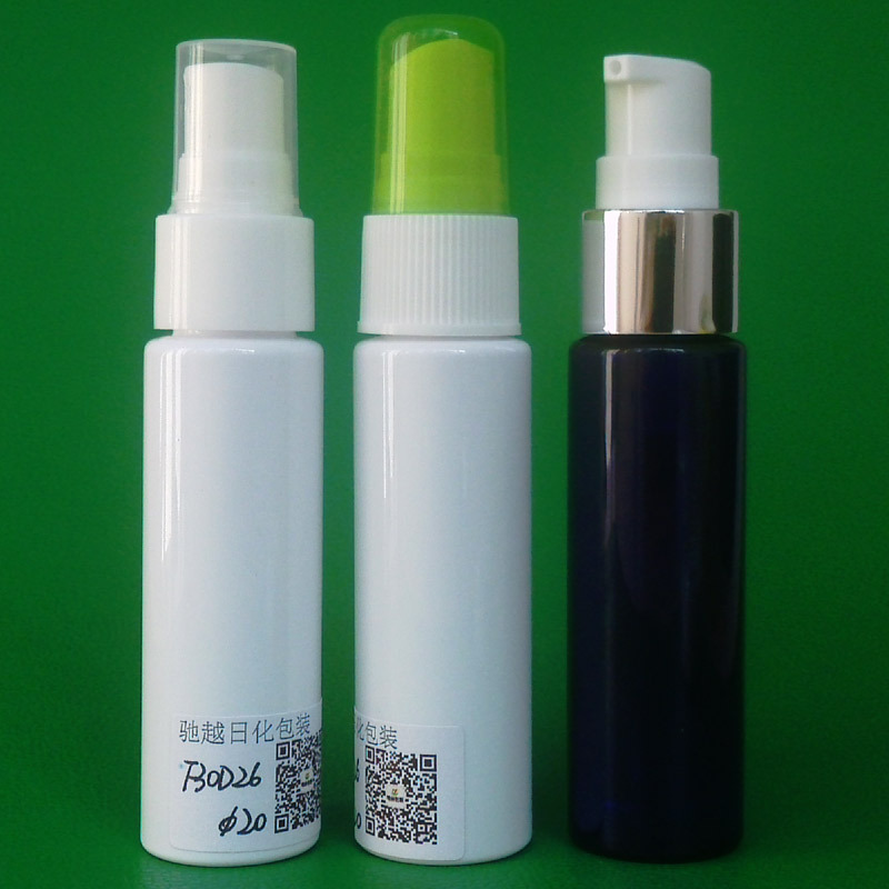 30ml PET atomizer bottle for floral water