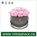 Custom logo printed and design high quality flower paper box flower packaging hat box