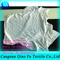 white used clothes half cut cotton wiping rags/ t shirt used for industrial oil cleaning