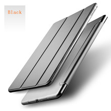 Joy Color Smart Slim Magnetic Leather Stand Case Cover For New Apple iPad 9.7 2017 For 2017 New iPad