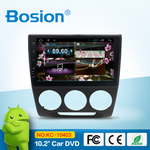 android 4.4.4 car navigation stereo for Crider/bluetooth gps radio swc phone conncet wifi 3g aux in