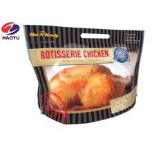 Qingdao laminated plastic hot roast chicken bag for Take away