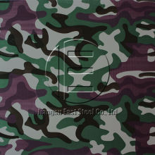 PE Paint Woodland Camouflage Steel Sheet for Land Force