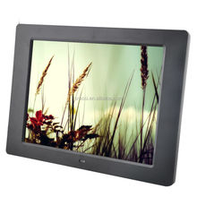 loop video, music, picture electric media 12 inch digital photo frame