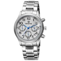 Stainless Steel Japan Movt Quartz Watch