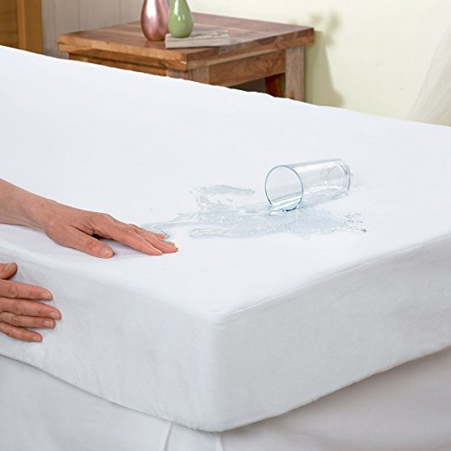 Terry Towelling Waterproof Mattress Protector King Bed Size Extra Deep Cover Anti Allergy - Jozy Mattress | Jozy.net