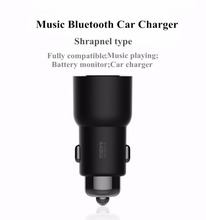 Roidmi bluetooth usb qc metal quick charge 3.0 Car Charger Music MP3 Player