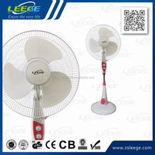electric pedestal fan with air cooler