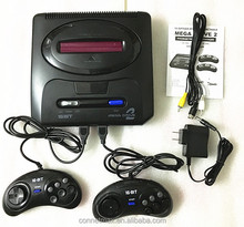 16 bit SEGA MD2 Video Game Console with US and Japan Mode Switch, Free 105 in 1 game cartridge for everdrive sega
