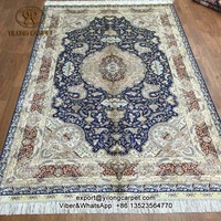 5'x8' Factory Price Silk Handmade Carpets and Carpets Persian Oriental Rug