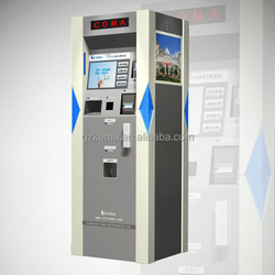 self-service parking payment machine with touch screen easy to use