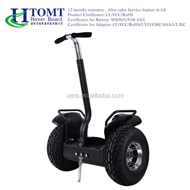2016 HTOMT new products remote control two big 19inch wheel offroad self balancing electric scooter with LG battery