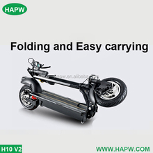light and convenient mini foldable ebike H10 V2 model electric bicycle from HAPW