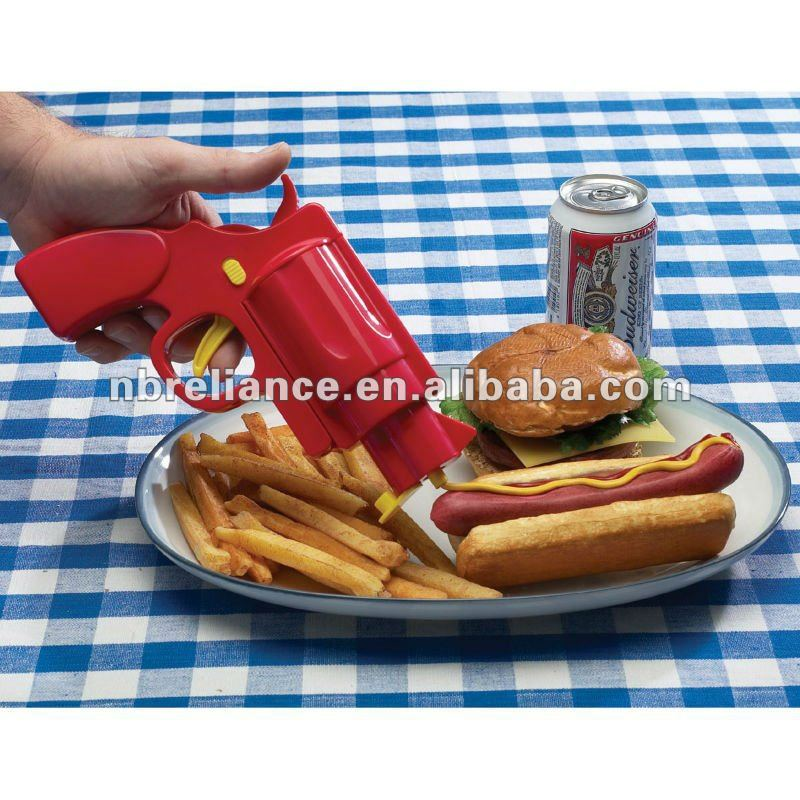 Tomato Sauce Gun Set 3pc