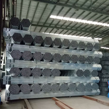 Tianjin Zhongtong Galvanized round steel tube