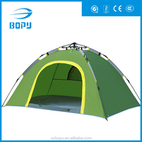sunproof cap leisure outdoor portable automatic camping tent with single layer
