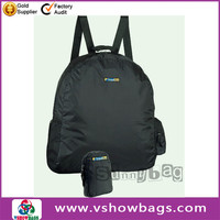 Provides protection from bumps fvegetable polyester foldable shopping bags custom reusable folding shopping bags