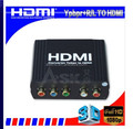 Mini Ypbpr To HDMI Converter( PAL To NTSC Or NTSC To PAL) component Ypbpr video to composite RCA video converter