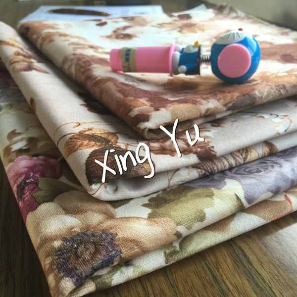 2016 chinese wholesale print fabric for sofa iran/turkish fabric velvet