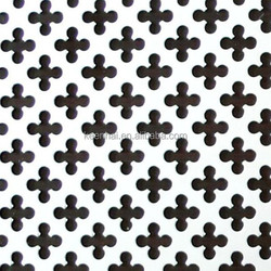 Durable 201 304 Stainless Steel Perforated Checker Plate