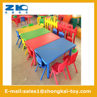 Preschool Kids Kindergarten Plastic chairs and tables