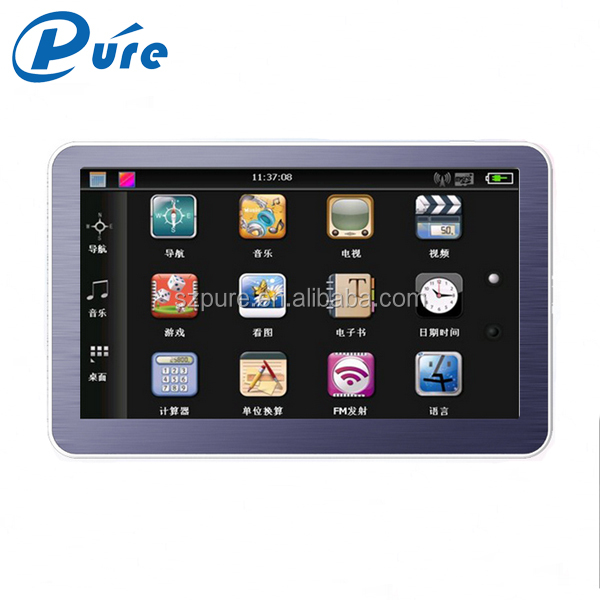 Car Navigation System HD 480*272 Car Navigation Entertainment System Smart Car GPS