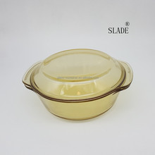 2018 China Large Round Colored Glass Fish Fruit Bowls